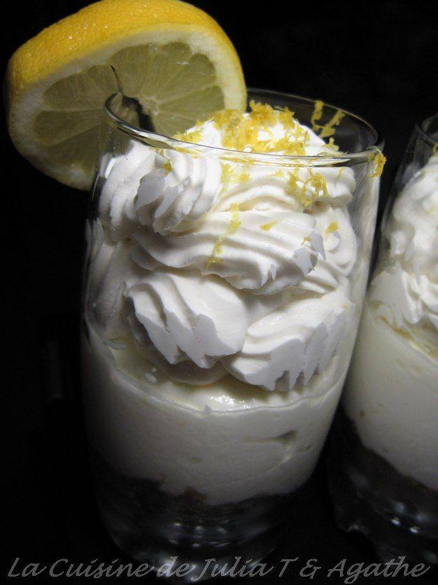 mousse au citron mascarpone