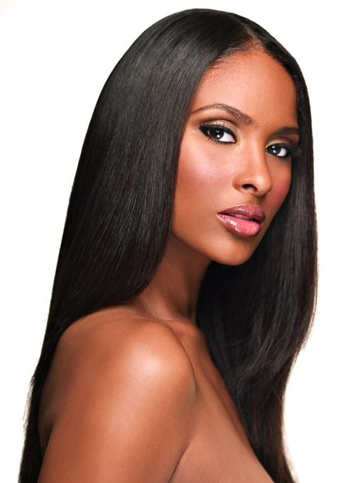 17 Best images about Hair/Beauty/Makeup on Pinterest | Her hair, Tika sumpter and Kim kardashian