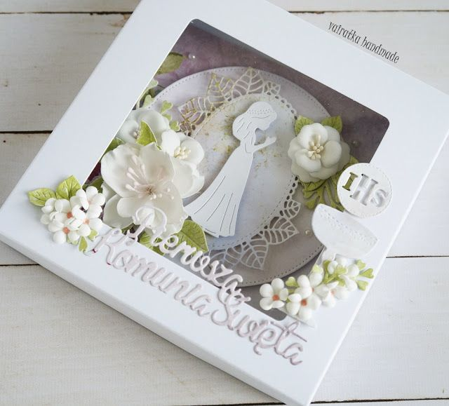 Blog Craft Passion: Pamiątka komunijna/First Communion card