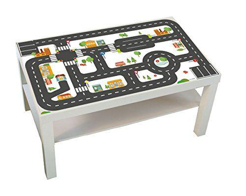 Limmaland - Möbelaufkleber Straßen - passend für IKEA LACK ...