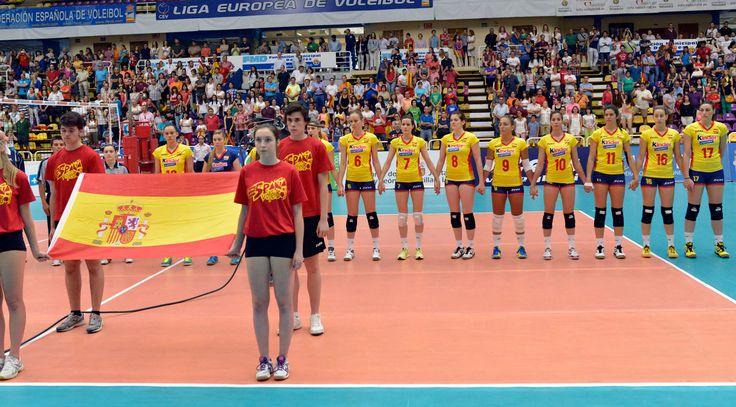 Liga Europea 2014 - España-Polonia