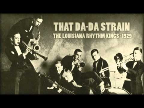 The Louisiana Rhythm Kings - That Da-Da Strain (1929)  Members of the orchestra :  Red Nichols - cornet, arranger Glenn Miller - trombone, arranger Dudley Fosdick - mel Fud Livingston - clarinet, tenor sax Arthur Schutt - piano Vic Berton - drums