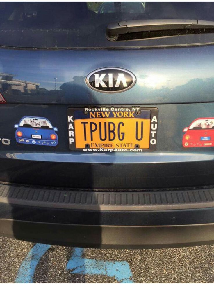 Court reporter's license plate