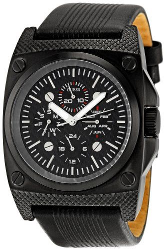 17 best images about guess watches for men sporty guess men s w13513g1 mens trend black dial watch this is an amazon associate s pin