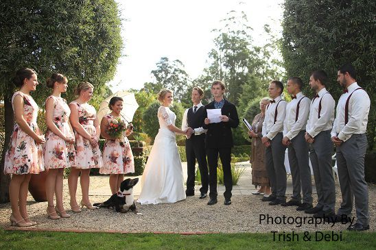 wedding photography with a bit of fun