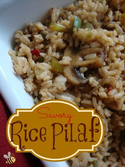 Savory Rice Pilaf on MyRecipeMagic.com