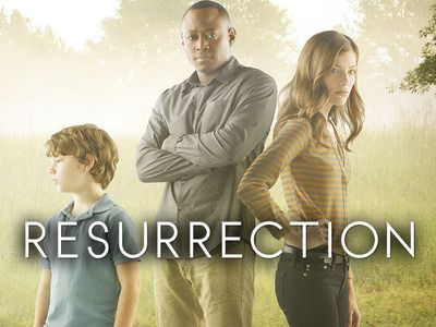 resurrection tv show...I'm not a huge sci-fi fan, but this show is sort of between a sci-fi and suspense, so it's really good. I just watched all the episodes over the weekend.