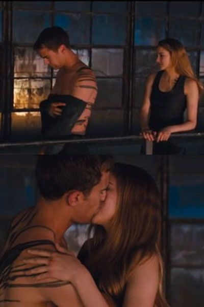 """Shailene Woodley Talks Making Out With Theo James In Divergent: """"He's A Great Kisser"""" ( - his girlfriend is a lucky gal :P)"""