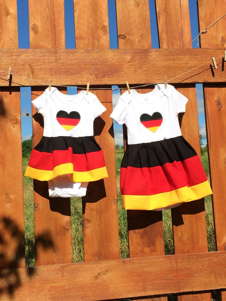 A personal favorite from my Etsy shop https://www.etsy.com/listing/450275576/german-flag-baby-dress