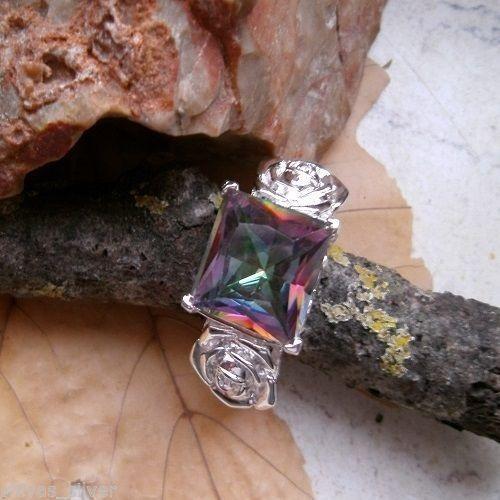 Mystic Topas, Ring, Ø 17,5 - 17,75 - 18,5 mm, 925 Sterling Silber in Uhren & Schmuck, Modeschmuck, Ringe | eBay!