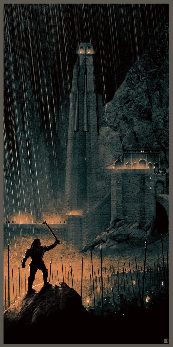 The Lord of the Rings - Two Tower by Matt Feguson