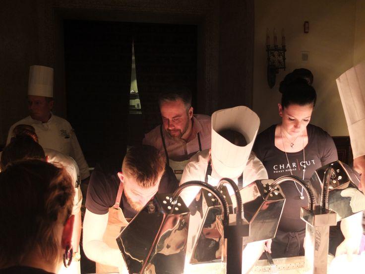 Visa Infinite Dinner top chef collaboration in Banff