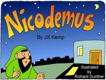 Nicodemus Printable Book On Story