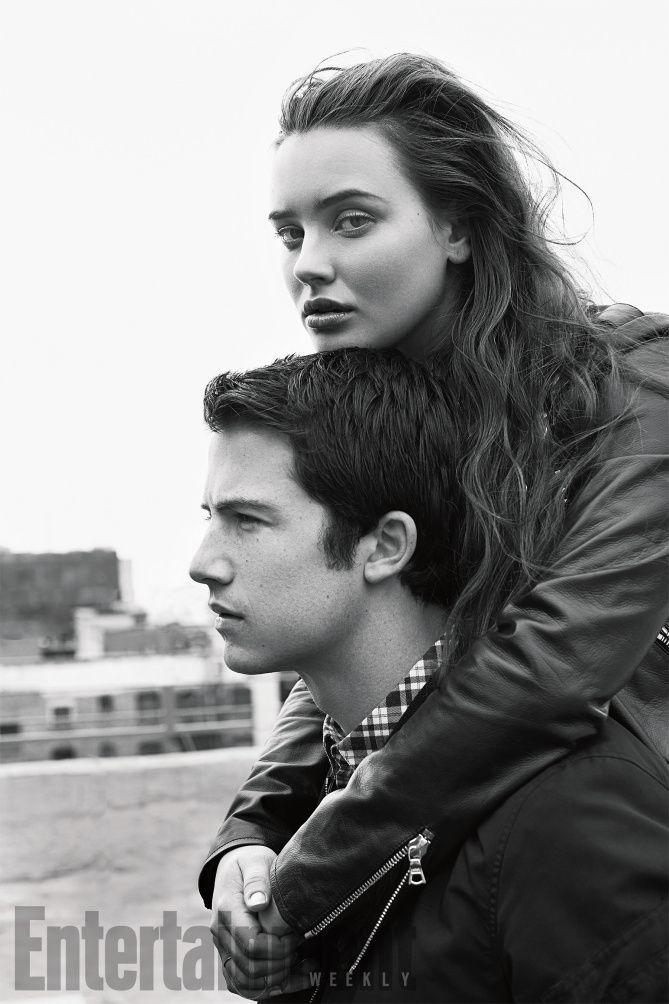 "Katherine Langford e Dylan Minnette, de ""13 Reasons Why"", estão maravilhosos em ensaio à EW"