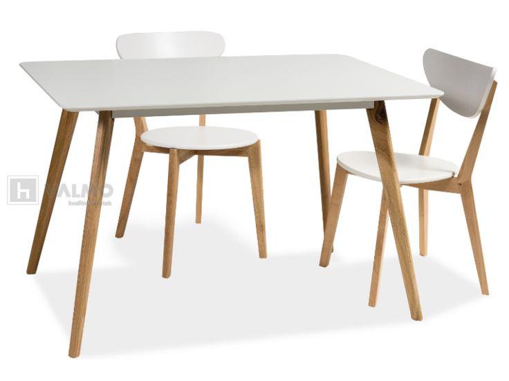 Jídelní stůl Milan 140   Jídelní stoly masiv   Nábytek VALMO