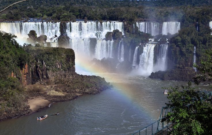 Cataratas do Iguaçu: | 17 Stunning Places In Brazil You Need To See Before You Die
