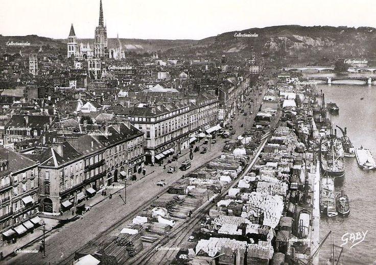 Rouen Les Quais vers 1930 - Normandy