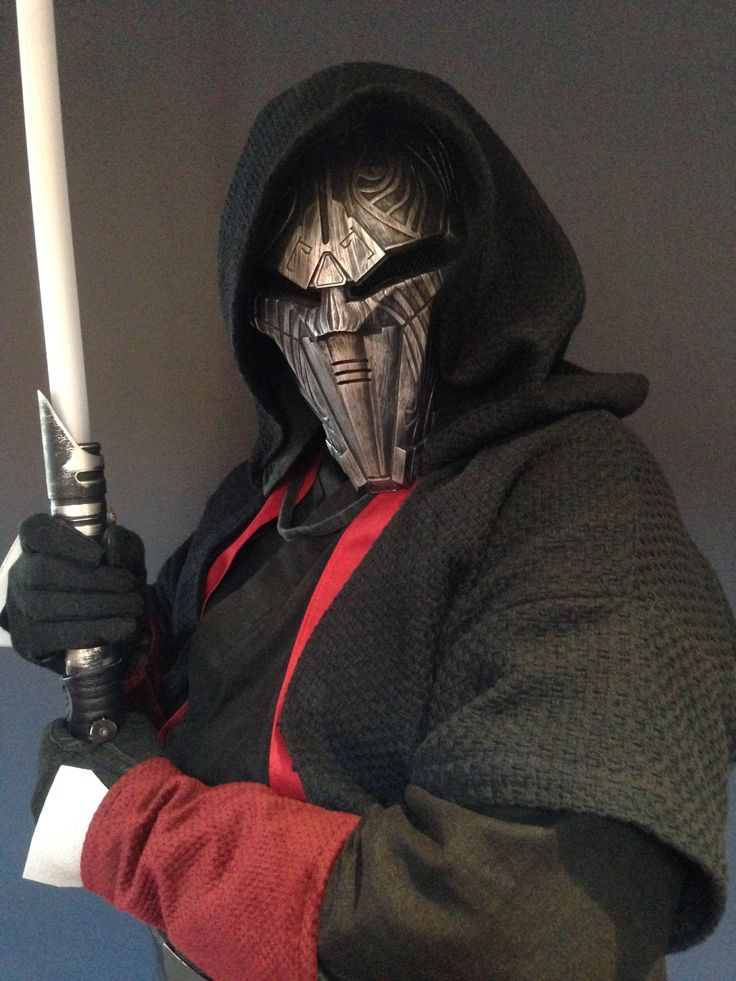 Custom Sith Lord costume for saber fighting/cosplay