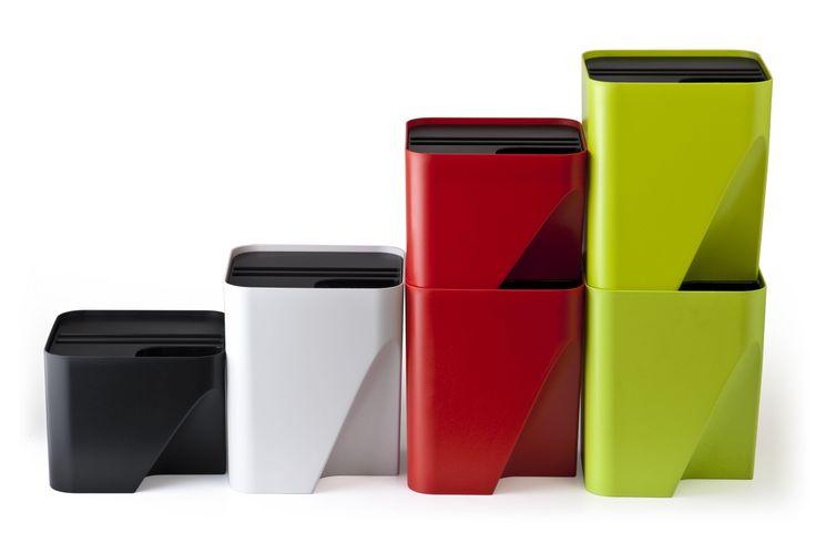 Jeśli myślisz, że recykling jest trudny, kosze na śmieci Blok sprawią, że zrozumiesz jak
