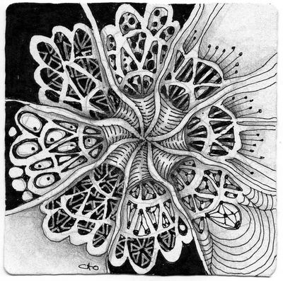 Open Seed Arts - outside the box - zendala challenge response