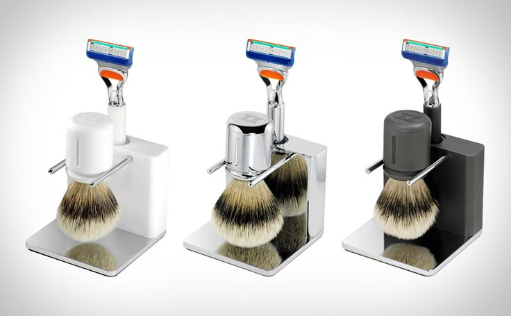 TwinLuxe Chrome Edition Shave Set