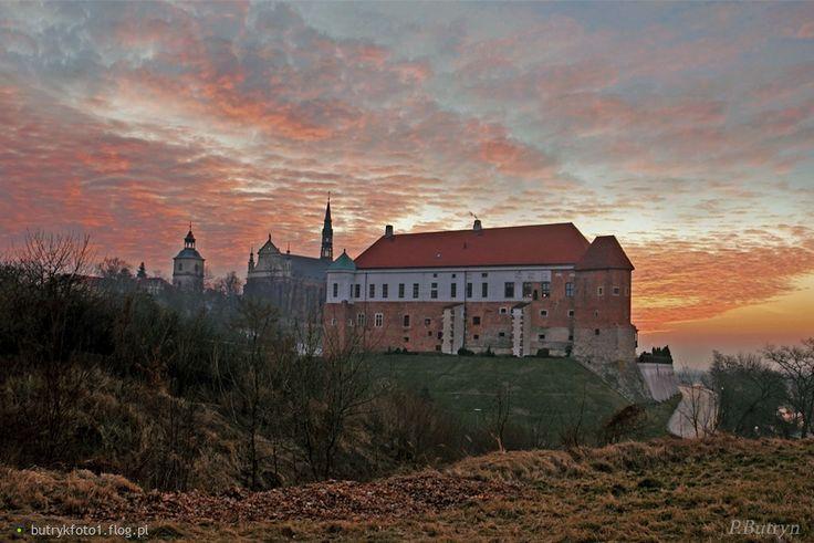 Najpiękniejsze wschody słońca w Sandomierzu :)
