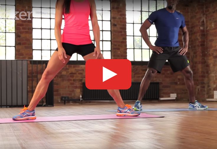Get maximum results in the minimum amount of time.   http://greatist.com/move/7-minute-workout-high-intensity-routine-for-strong-legs
