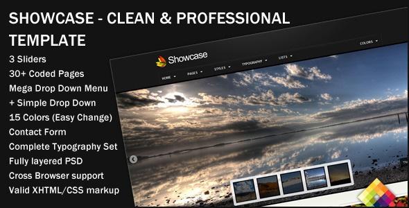 Showcase - Professional Portfolio Template