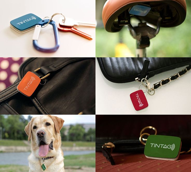 TINTAG, The First Rechargeable Item Tracker | Indiegogo