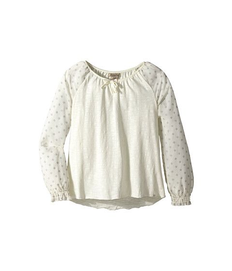 Lucky Brand Kids Janae Peasant Top (Big Kids)