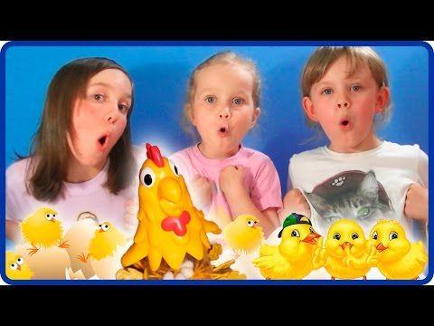 Челлендж ИГРА КУРИЦА Несет Яйца Веселое Развлечение для Детей Осторожно Яйца - YouTube