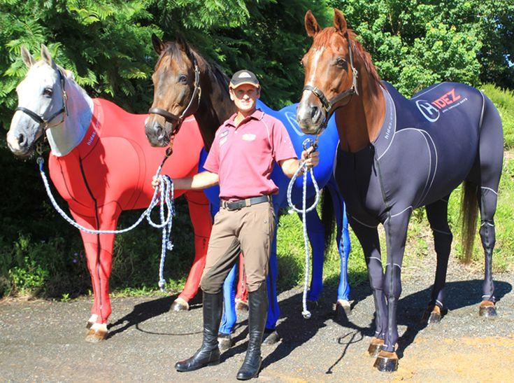 Trajes de alta tecnología para mejorar el rendimiento de los caballos de carreras