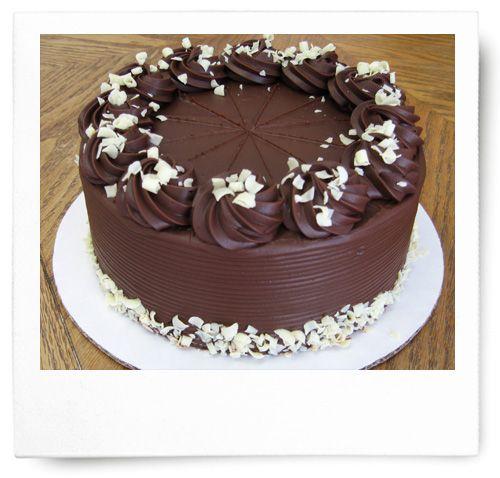 Chocolate cake pig fest - 1 6