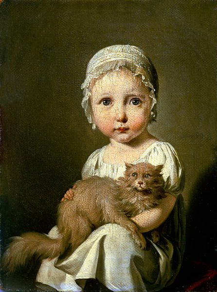 MY FAVORITE IN THE LOUVRE: Louis-Léopold Boilly, Gabrielle Arnault enfant, 1813