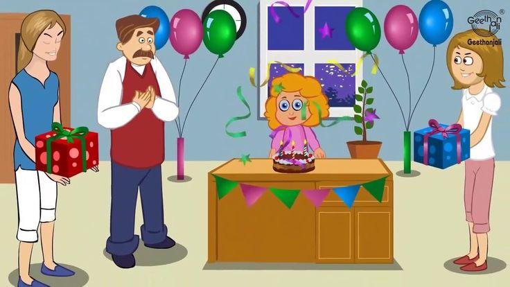Happy Birthday to you, Happy Birthday to you, Happy Birthday, Happy Birthday, Happy Birthday to you. May god Lord bless you dear, May god Lord bless you dear, Happy Birthday dear , Happy Birthday to you.