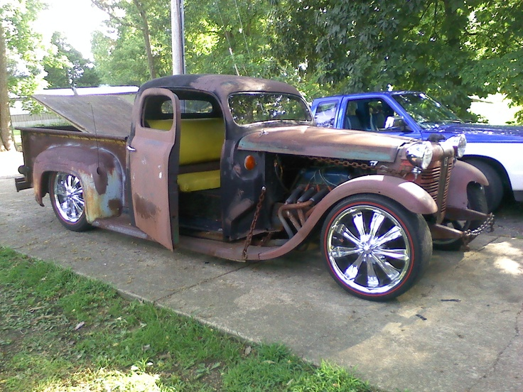 Rat Rod Universe... ❦Rat Rods, Rods Pickup, Rats Rods, Suicide Doors, Pickup W A, Carse Trucks, Rods Universe, Hot Rods