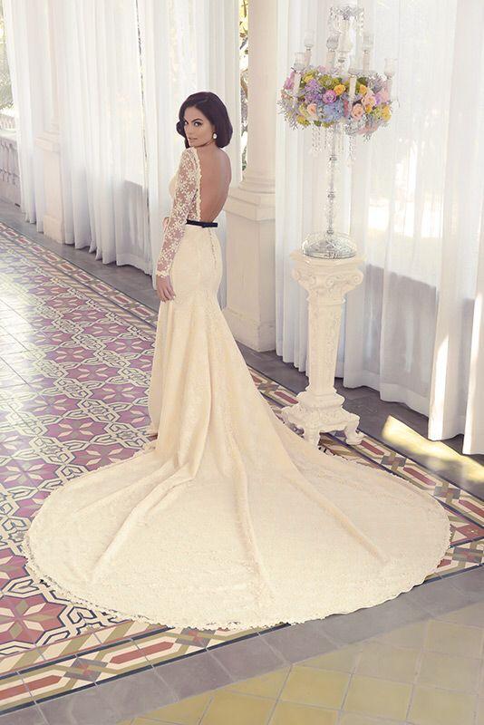 Ximena Navarrete in Benito Santos Wedding Collection