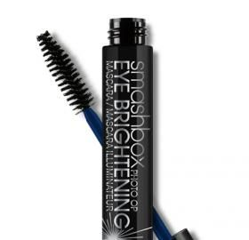 BEST SELLER MARCH 2014: PHOTO OP EYE BRIGHTENING MASCARA.  Hey, bright eyes! Our 3-in-1 eye-opening mascara features a long-wearing formula that curls, an innovative brush that lifts every lash, and Blue Prism Technology that brightens for a totally wide-eyed effect.  • Instantly curls by 100%  • Smudge-proof  • Flake-proof So what is this awesome technology?  A blend of micas, titanium and blue pigments that make the whites of your eyes pop!