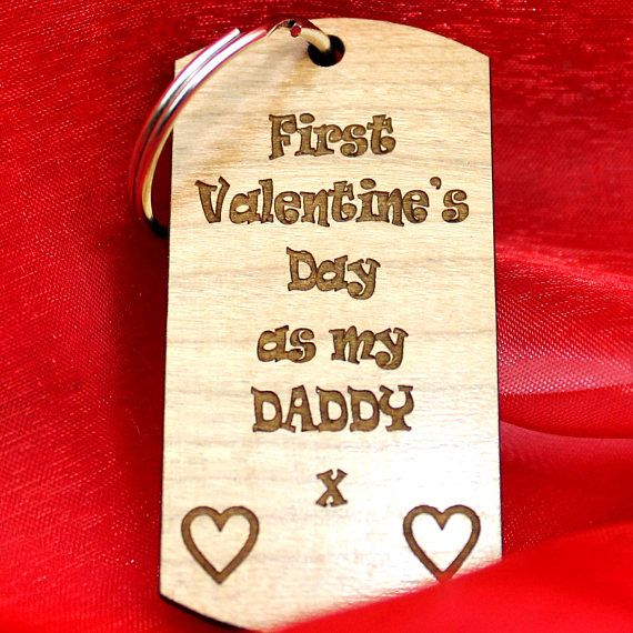 1st valentine- 1st valentine day-Daddy Valentine - valentines day gift-valentines day gift for him-valentines day gift daughter  £5.99+