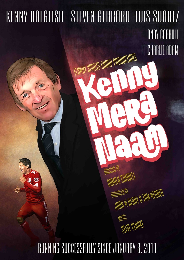 This takes inspiration from a classic Bollywood movie 'Johny Mera Naa'. Kenny Mera Naam essentially means 'Name's Kenny'. Art credit: Vinay Kumar. © 2011, Red Label
