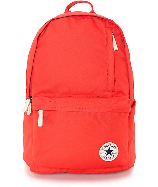 Functional and durable, the Converse Original Red Backpack is a simply designed…