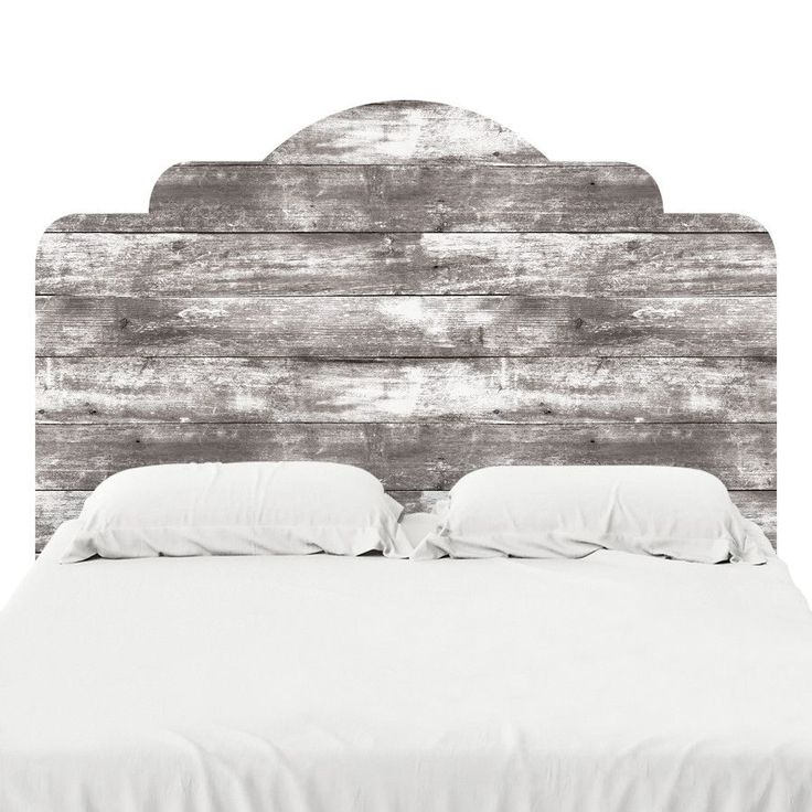 Wood III | Headboard Decal | WallsNeedLove