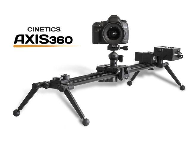 Pretty versatile slider! Axis360: modular motion control for cameras by Cinetics — Kickstarter