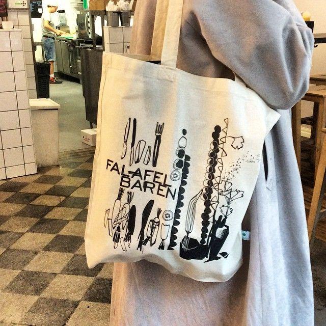 #falafelbaren #påse #kheiralinder @kheiralinder har ritat våra nya påsar #fairtrade #organic #bramiljöval #falafelbaren