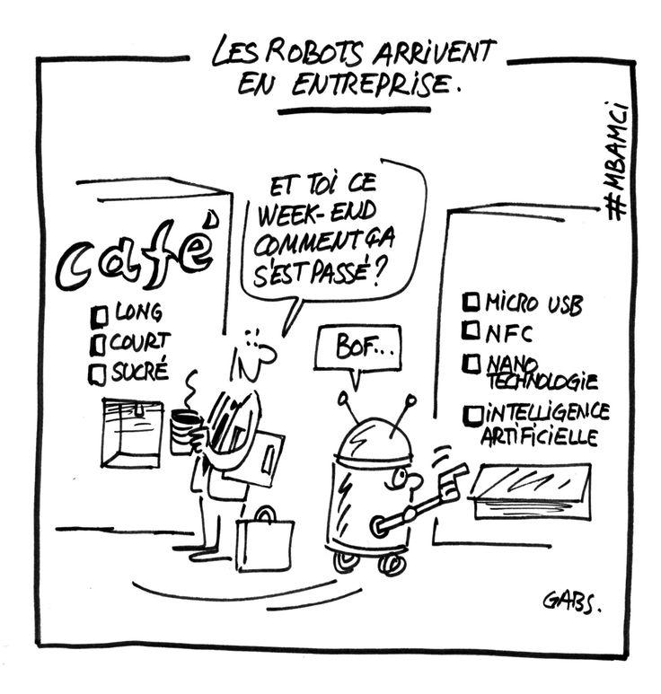 Les robots au conseil d'administration
