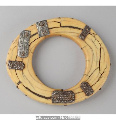 Africa | Ivory Bracelet with Repairs