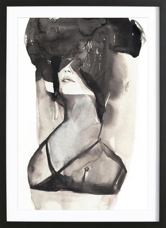 A MINIKIN as Framed Poster by Victoria Verbaan | JUNIQE