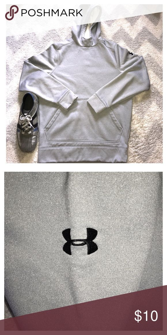Under Armour silver hoodie good conditionh Under Armour silver hoodie good condition material body corps 100% polyester Under Armour Jackets & Coats