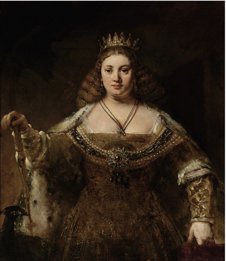 Rembrandt, Juno, 1662-5 Oil on canvas 127 x 123.8 cm Hammer Museum, Los Angeles © The Armand Hammer Collection, Gift of the Armand Hammer Foundation. Hammer Museum, Los Angeles