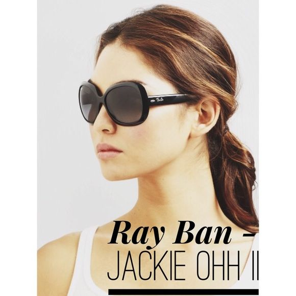 ray ban jackie ohh ii nwt to be shape and sunglasses. Black Bedroom Furniture Sets. Home Design Ideas